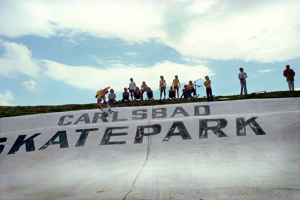 Carlsbad Skate Park, 1975 (from the series 'Locals Only')