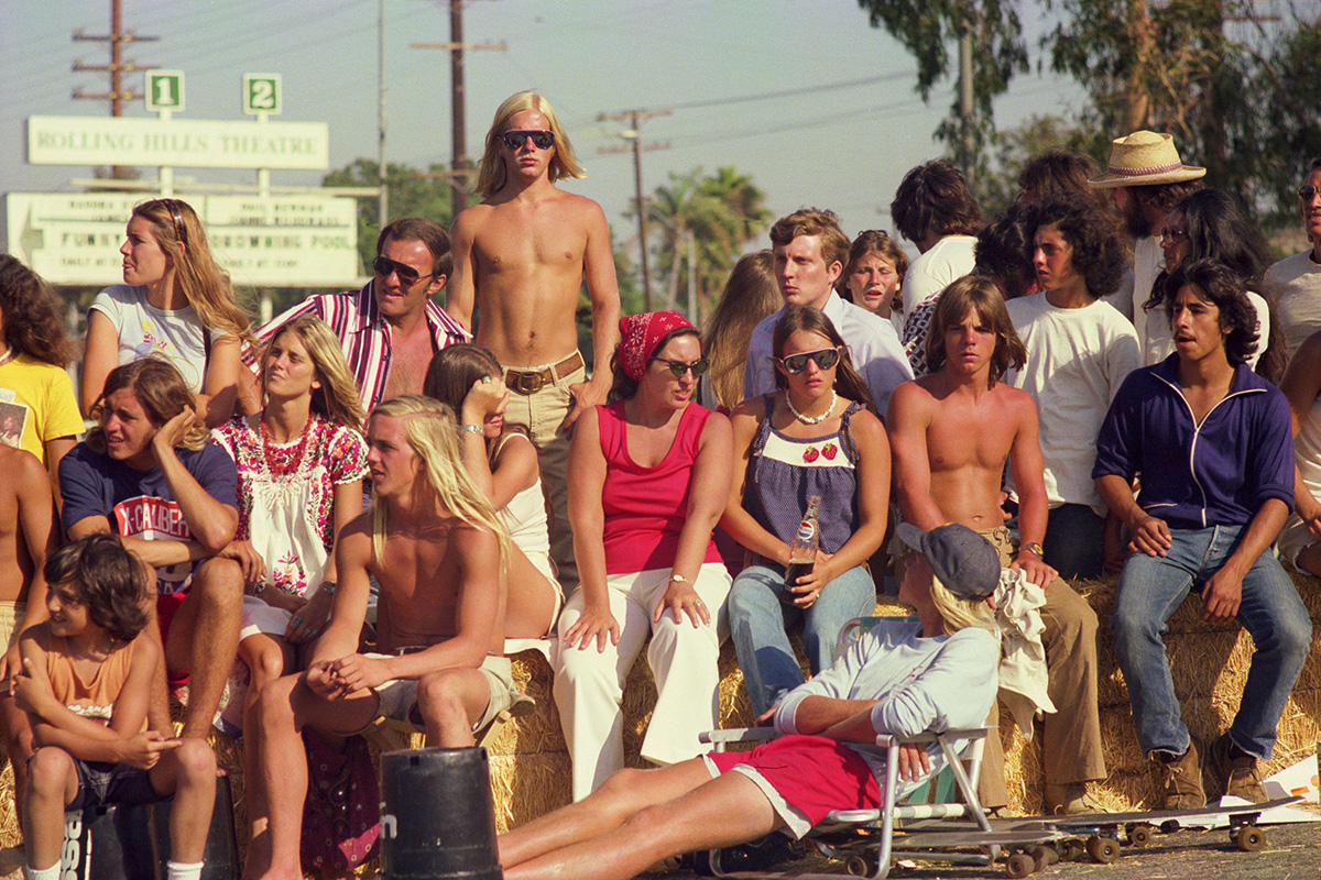 Skate Contest Spectators (from the series 'Locals Only')